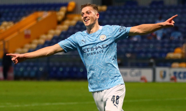 Man City wonderkid Liam Delap, son of Stoke hero Rory - Bóng Đá