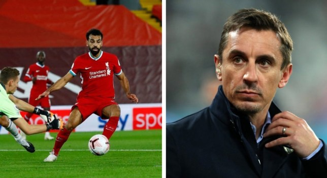 Gary Neville slams 'selfish' and 'greedy' Mohamed Salah during Liverpool's victory over Arsenal - Bóng Đá