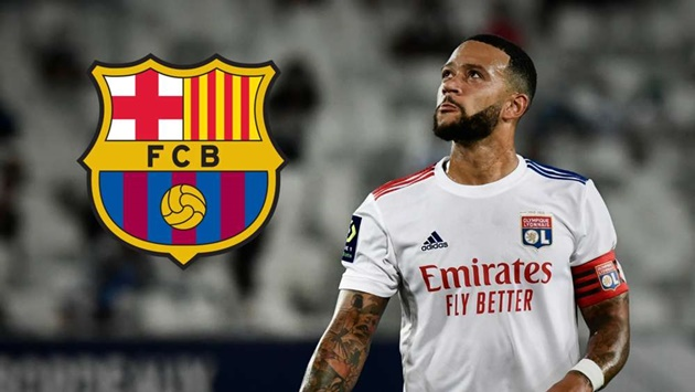 Depay is disappointed with Barcelona but will try to move there in January – Lyon president Aulas - Bóng Đá