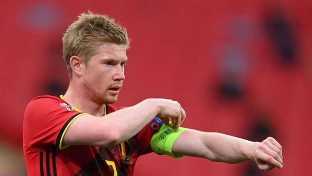 Injury scare for Man City as De Bruyne withdraws from Belgium squad - Bóng Đá