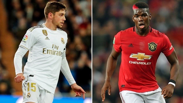 Man Utd eye Federico Valverde transfer as Real Madrid midfielder starts to fulfil potential - Bóng Đá