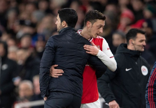 Arsenal boss Mikel Arteta responds to Mesut Ozil statement after Premier League squad snub - Bóng Đá