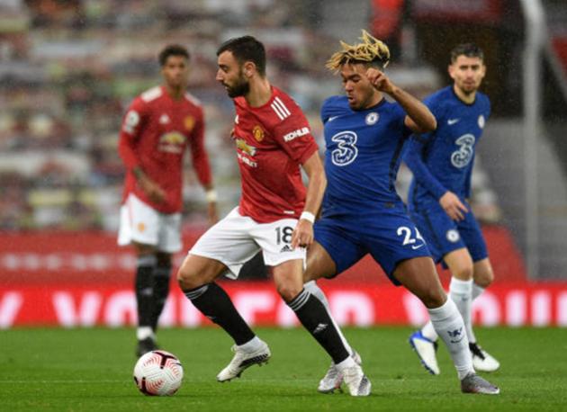 TRỰC TIẾP Man United 0-0 Chelsea: Thủy chiến tại Old Trafford (H1) - Bóng Đá