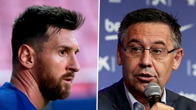 'With Messi, we'll win a title this season' - Bartomeu explains why he had to keep the Argentine star at Barcelona - Bóng Đá