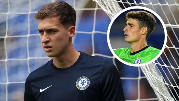 'I learned a lot from Kepa' - How Chelsea goalkeeper Cumming improved without playing - Bóng Đá