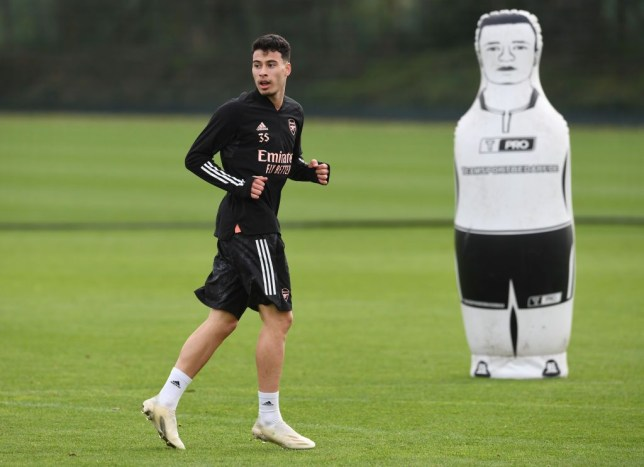Gabriel Martinelli returns to Arsenal training ahead of schedule in major boost for Mikel Arteta - Bóng Đá