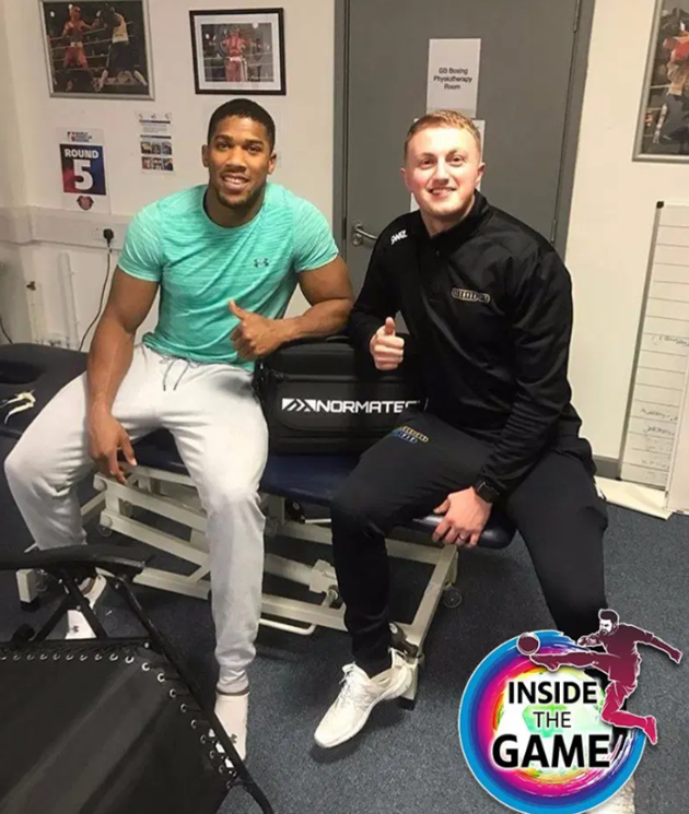 Introducing the Michelin Man-style trousers that Anthony Joshua, Bale and Thiago Silva use in muscle recovery - Bóng Đá
