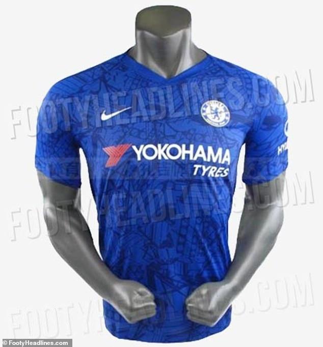 Rò rỉ áo đấu sân nhà của Chelsea mùa giải tới - Bóng Đá