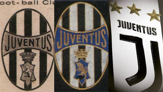 Nhìn lại Logo của Juventus qua các triều đại