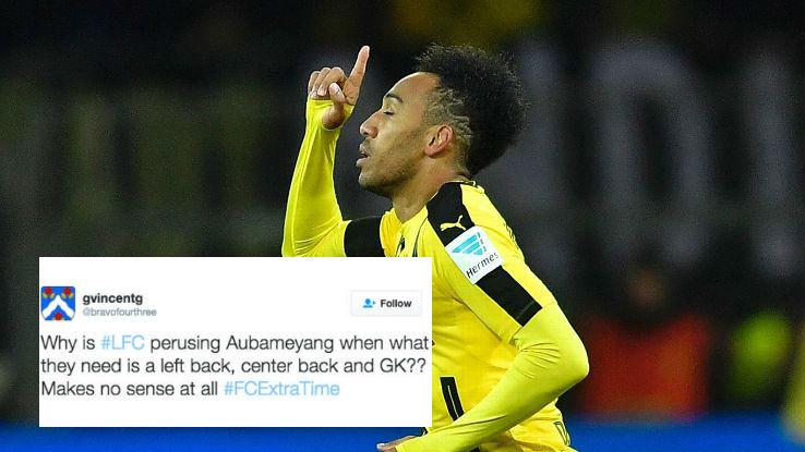 CĐV bất bình khi biết Liverpool muốn mua Aubameyang - Bóng Đá