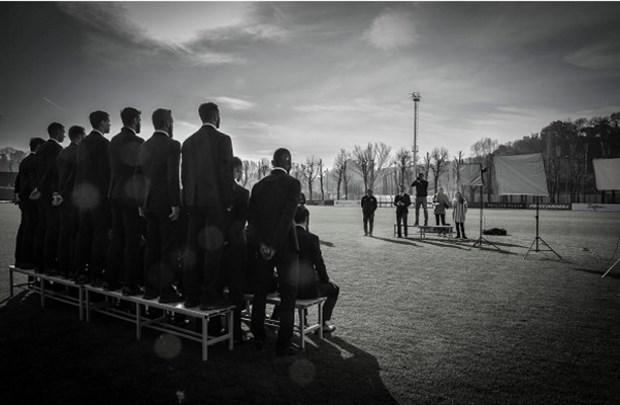 Chùm ảnh: Một loạt 'soái ca' xuất hiện trên sân tập của Roma - Bóng Đá