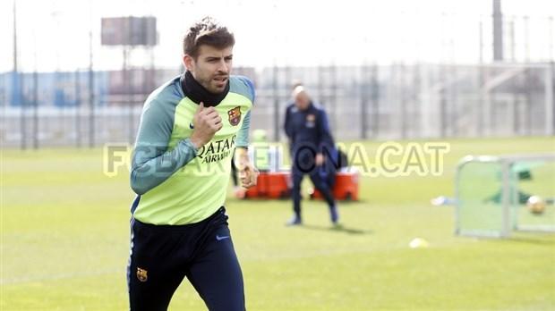 Chùm ảnh: Buổi tập vắng bóng nụ cười của Barcelona - Bóng Đá