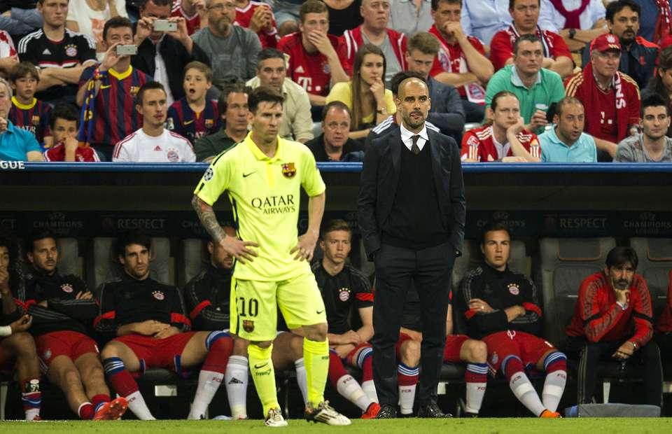Barcelona sa sút, Messi gọi điện cầu cứu Guardiola