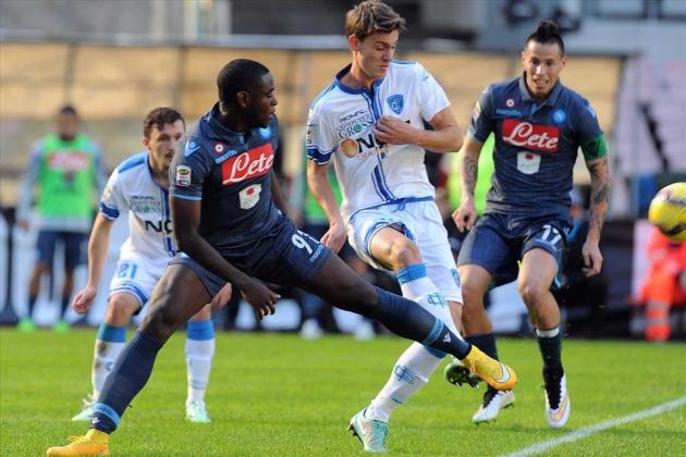 Hiệp 2 mơ ngủ, Napoli suýt trả giá trước Empoli - Bóng Đá