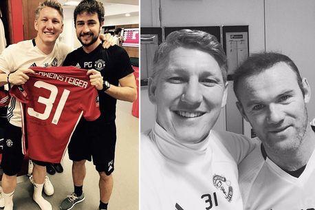 Schweinsteiger chỉ nhớ về 2 người sau khi rời Man Utd