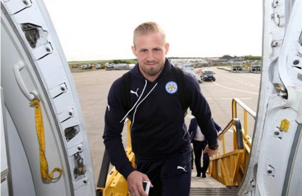 Dàn sao Leicester phấn khích lên đường sang Madrid  - Bóng Đá