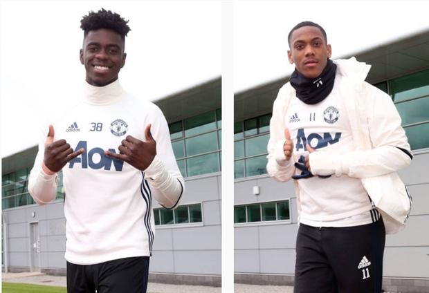 Gạt đi nỗi buồn mất cha, Pogba trở lại tập luyện cùng Man Utd  - Bóng Đá