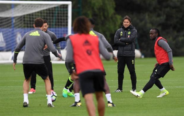 Đã vô địch, Chelsea vẫn 'hết mình' trên sân tập - Bóng Đá