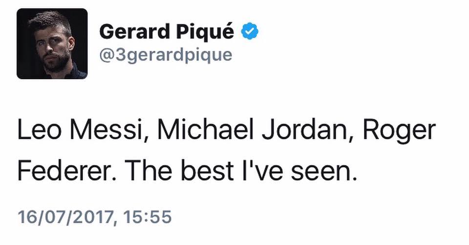 Pique bị fan của Ronaldo