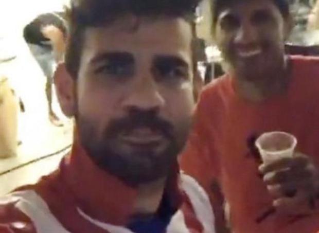 Costa công khai mặc áo Atletico, ngày chia tay đã đến? - Bóng Đá