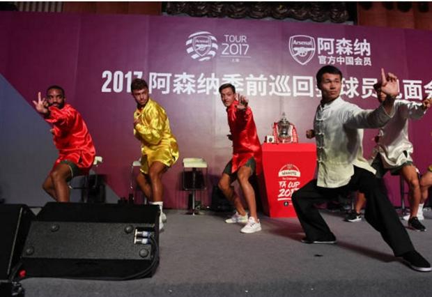 Lacazette cùng dàn sao Arsenal tự tin múa quyền tại Thượng Hải - Bóng Đá