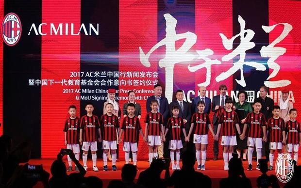 Dàn sao Milan ra mắt hoành tráng tại Quảng Châu - Bóng Đá