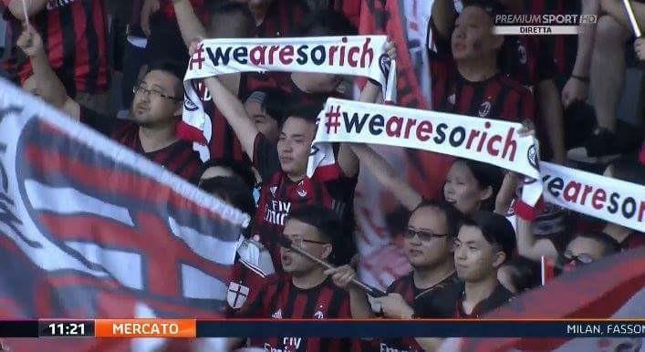 Khẩu hiệu mới của Milan – 'Chúng tôi rất giàu'