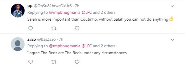 Salah rực sáng, Liverpool không còn cần Coutinho - Bóng Đá