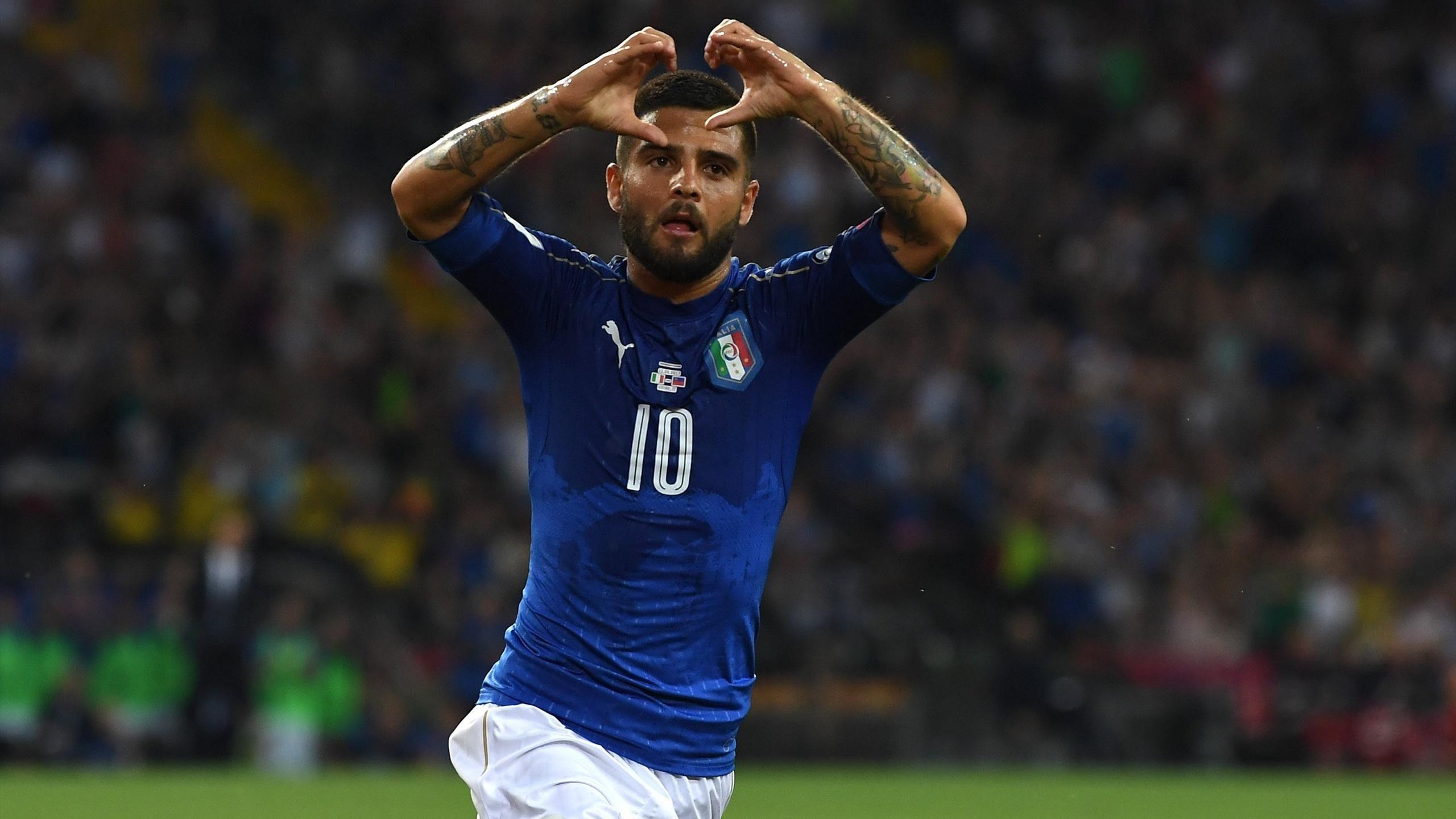 Insigne sẽ mặc áo số 10 mới của Italia - Bóng Đá