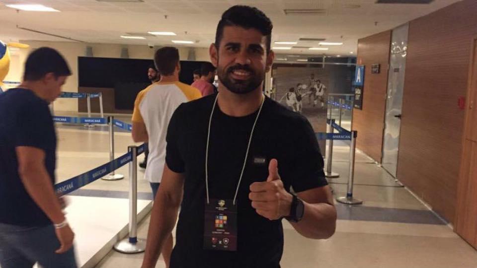 Costa trở lại London, chờ phán quyết của Chelsea - Bóng Đá