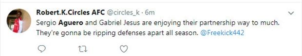 Còn ai bảo Aguero và Jesus chẳng thể đá cặp? - Bóng Đá