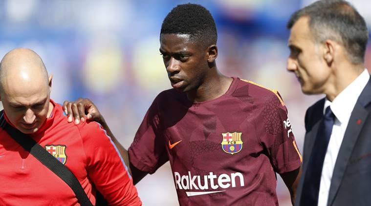 Barcelona có thể sẽ mất Dembele trong 4 tuần - Bóng Đá