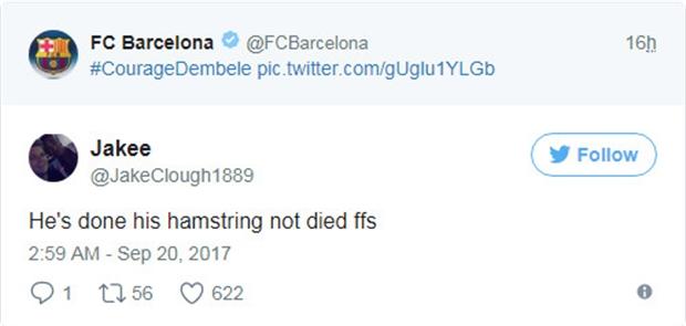 Xin lỗi Barcelona, Dembele vẫn chưa... chết - Bóng Đá