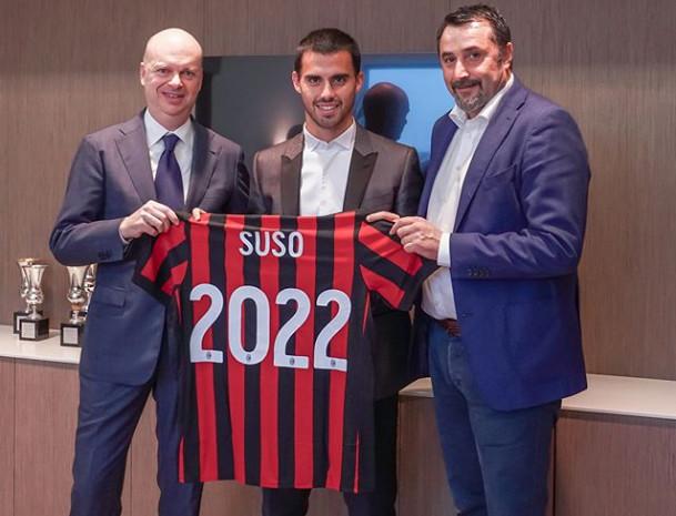 Suso CHÍNH THỨC gian hạn hợp đồng với AC Milan - Bóng Đá