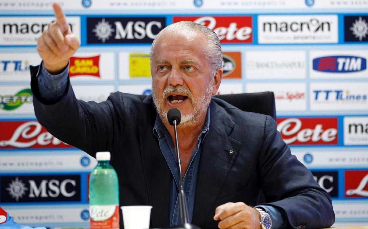 SỐC: Chủ tịch Napoli tuyên bố 'bỏ' trận đấu với Man City - Bóng Đá