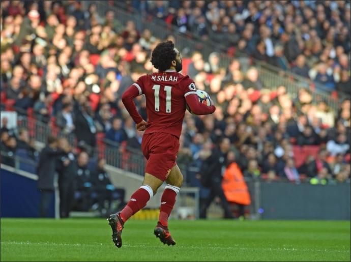 Salah, điểm sáng duy nhất của Liverpool trong đêm giông bão tại Wembley - Bóng Đá