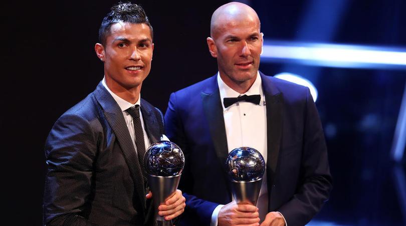Zidane: 'Đam mê là bí quyết thành công của Ronaldo' - Bóng Đá