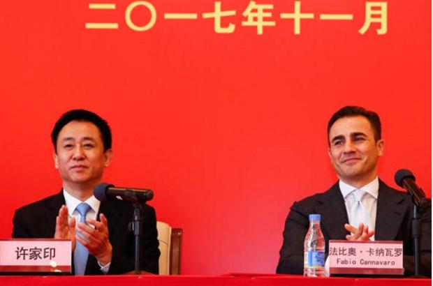 Cannavaro rạng ngời trong ngày trở lại nắm quyền tại Guangzhou - Bóng Đá