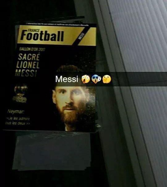 Lộ bằng chứng Messi đánh bại Ronaldo ở giải thưởng QBV - Bóng Đá