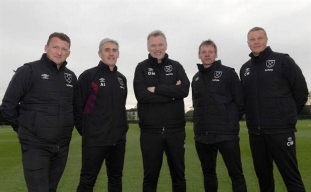Bộ sậu của Moyes chính thức 'khuấy đảo' sân tập West Ham - Bóng Đá