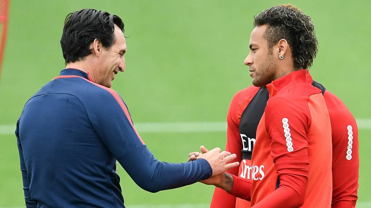 Tình thầy trò Neymar - Emery đang ngày một tốt hơn - Bóng Đá