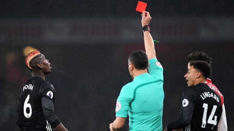 Pogba lần đấu lên tiếng về chiếc thẻ đỏ trong trận đấu với Arsenal - Bóng Đá