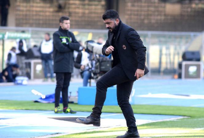 Gattuso cảm thấy xấu hổ với thảm bại của Milan - Bóng Đá