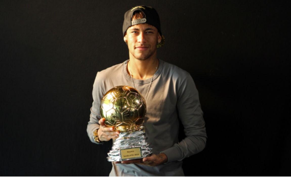 Đầu năm 2018, Neymar cũng đã có bóng vàng cho riêng mình - Bóng Đá