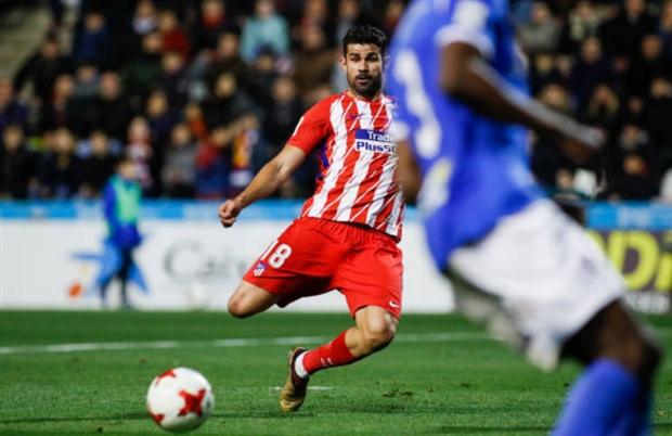 Chỉ sau 5 phút vào sân, Costa đã tái kích hoạt 'tài khoản' tại Atletico - Bóng Đá