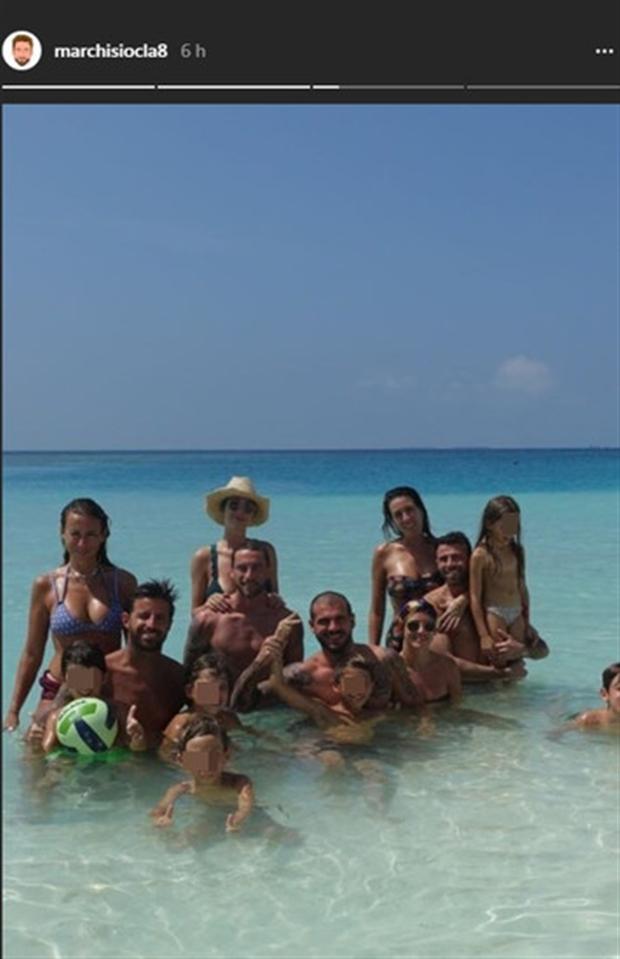 Dàn sao Juventus rủ nhau đến Maldives hưởng nắng vàng, biển xanh - Bóng Đá