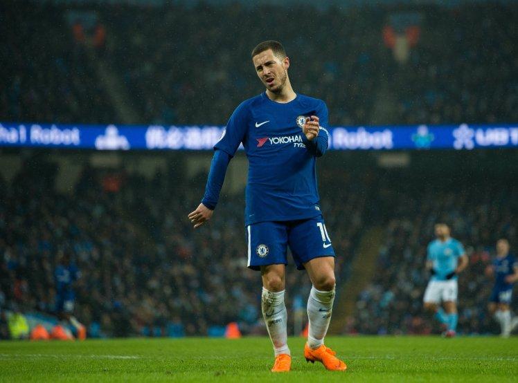 8live đưa tin Hết Courtois, đến lượt Hazard bật lại Conte