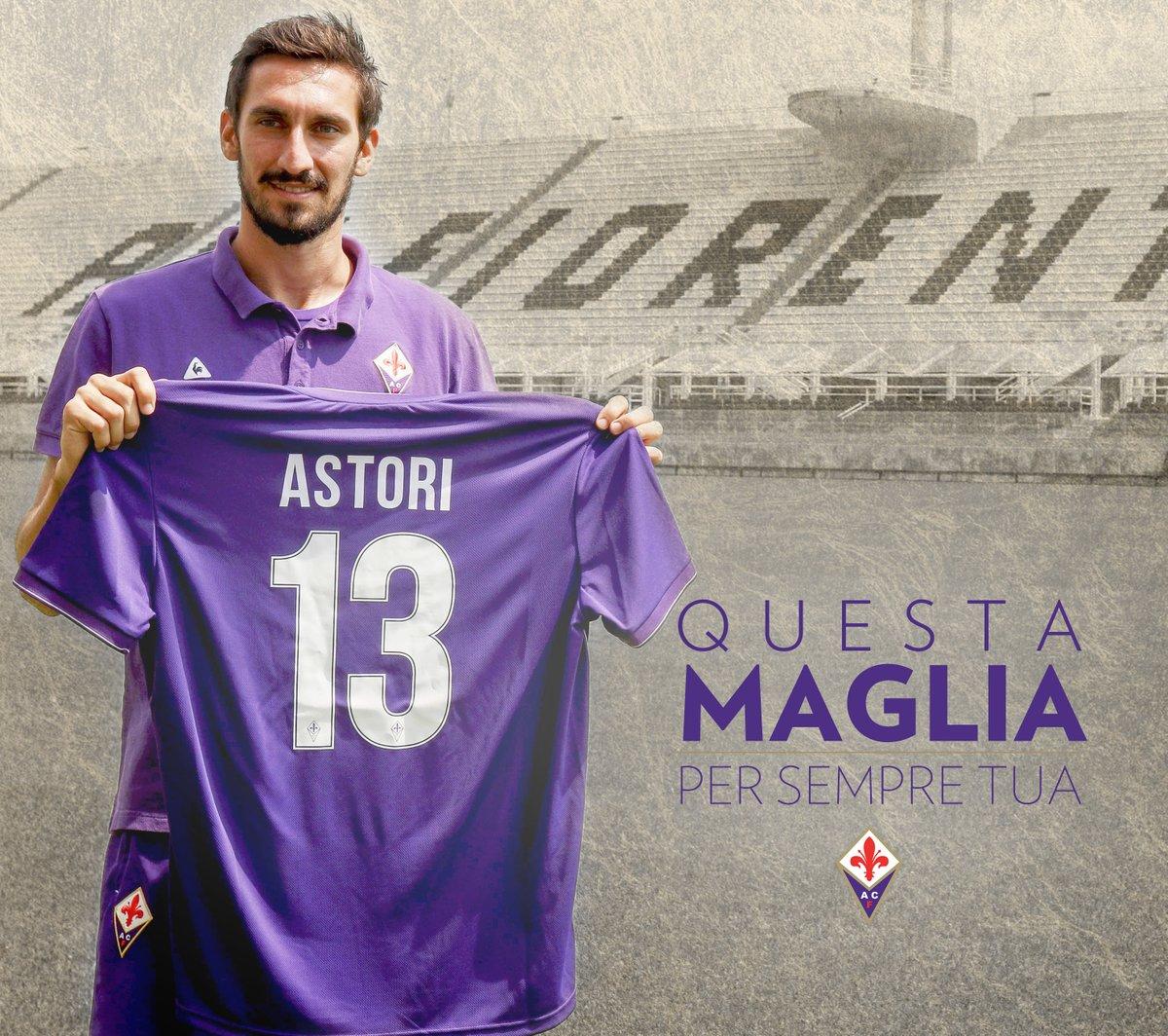 Fiorentina treo vĩnh viễn áo đấu của Davide Astori  - Bóng Đá