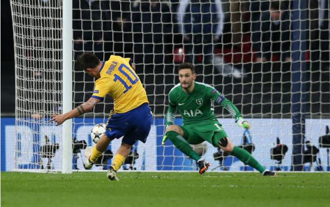 3 phút ngái ngủ, Tottenham tự dâng vé đi tiếp cho Juventus - Bóng Đá