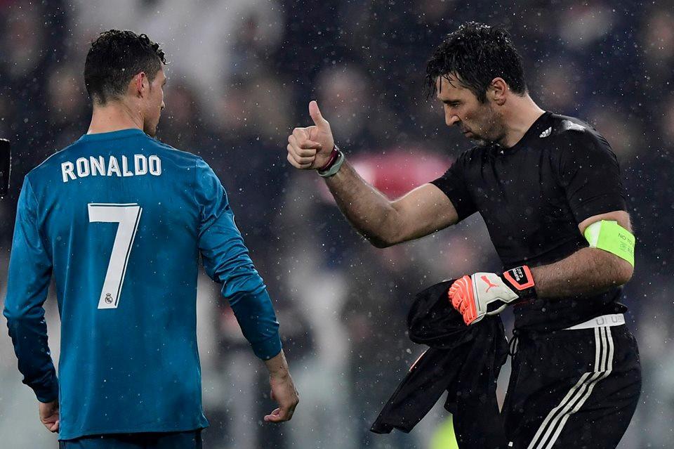Thống kê kinh khủng thành tích đối đầu của Ronaldo trước Buffon - Bóng Đá